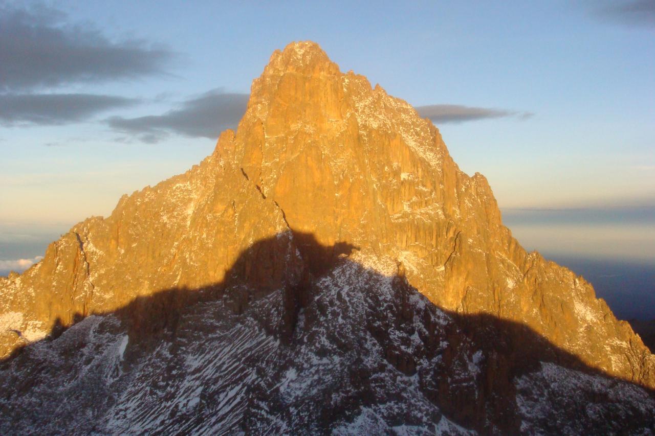 Views of Mount Kenya Summit
