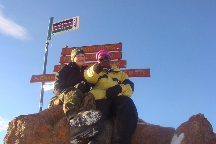 YHA Kenya Travel, Small Group Adventures,Mountain Adventures,Climbing Mount Kenya