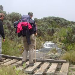 YHA Kenya Travel, Small Group Adventures,Mountain Adventures,Climbing Mount Kenya,