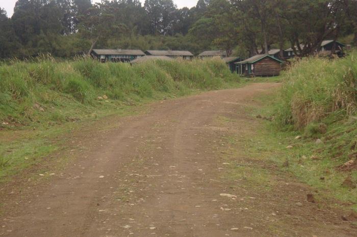 Climbing Mount Kenya Base of Chogoria Trekking Route Adventure