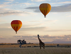Balloon Adventure Safari Maasai Mara-YHA Kenya Travel