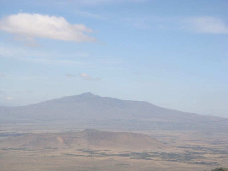 Great Rift Valley-Views of  Mt Suswa
