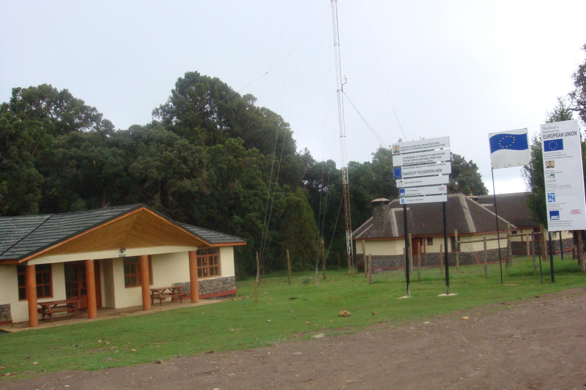 Mount Kenya Entrance Gate