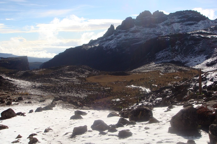 The Summit, Point Lenana,Snow in Mt Kenya, Mt Kenya Peaks ,Climbing Mount Kenya,Trekking Mount Kenya, Hiking Mount Kenya