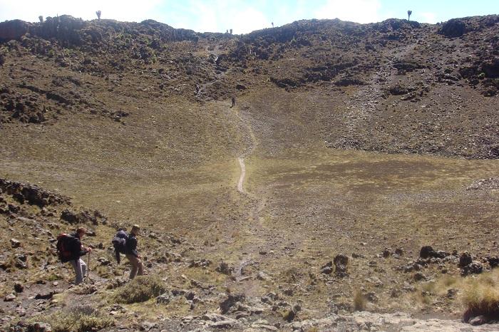 Mount kenya Trekking - Trekking Mt Kenya Routes