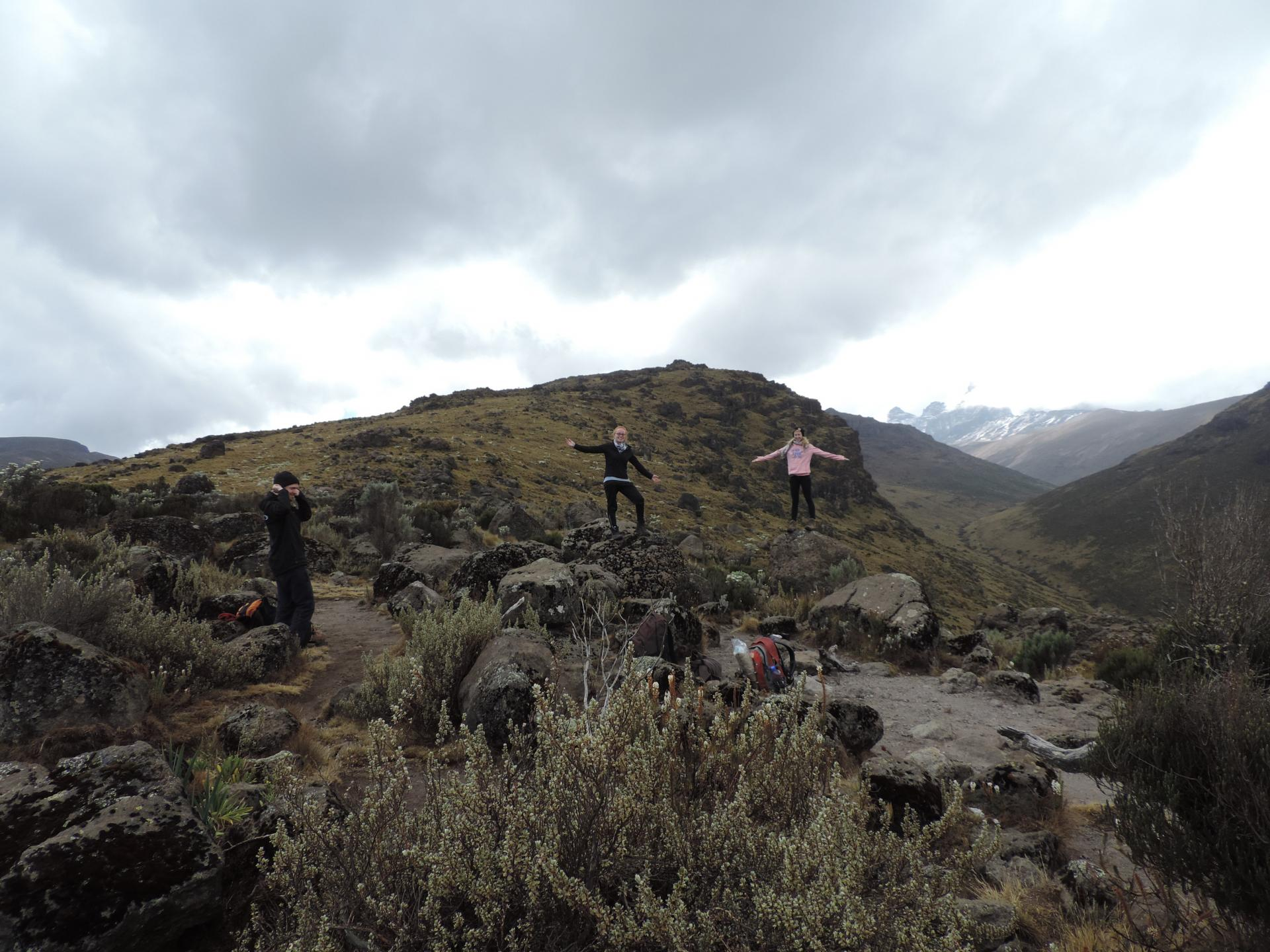 trekking trips Kenya, climbing mount Kenya, climbing Mount Kenya in Kenya, mount Kenya hiking, walking, route, trekking routes, yha Kenya travel, photos