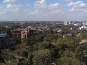 Nairobi City Views-YHA-Kenya Travel