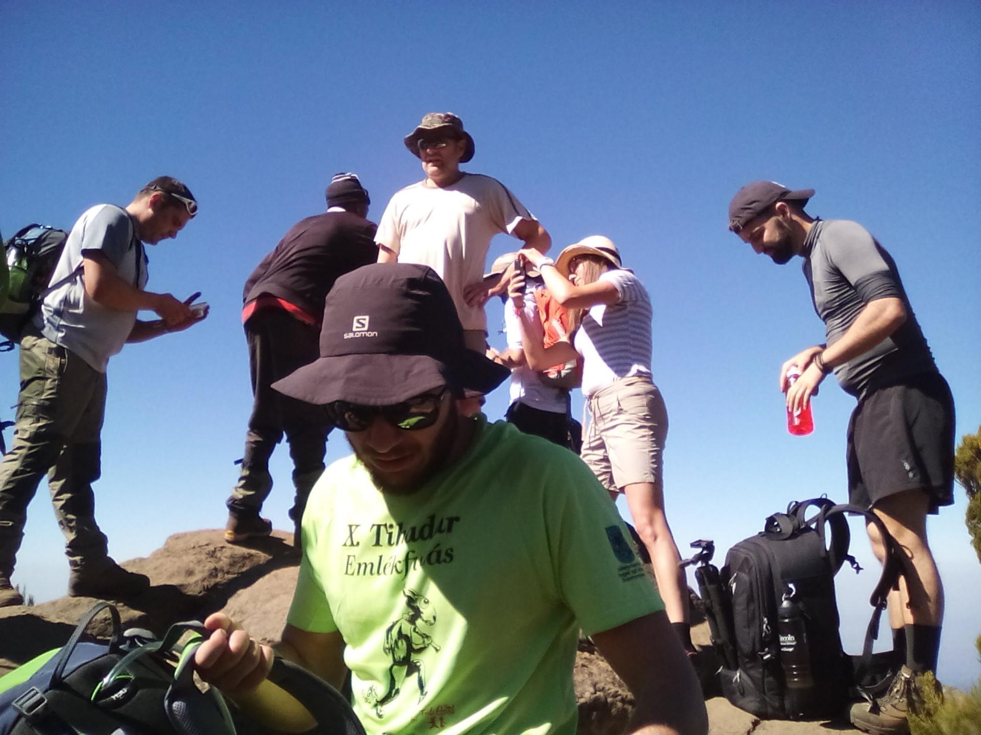 Small group adventure climbing Mt Kilimanjaro