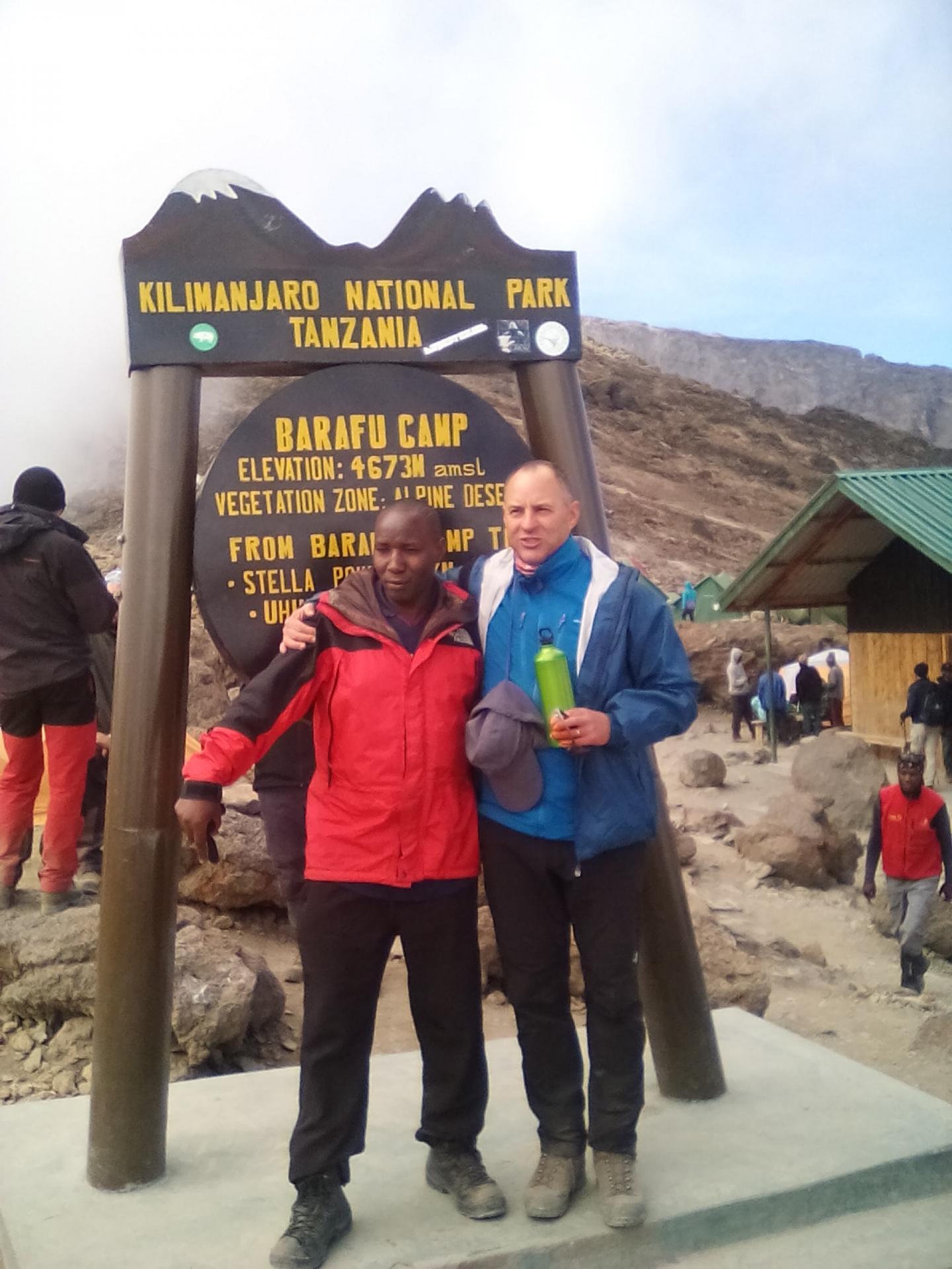 Small group adventure climbing Mt Kilimanjaro.