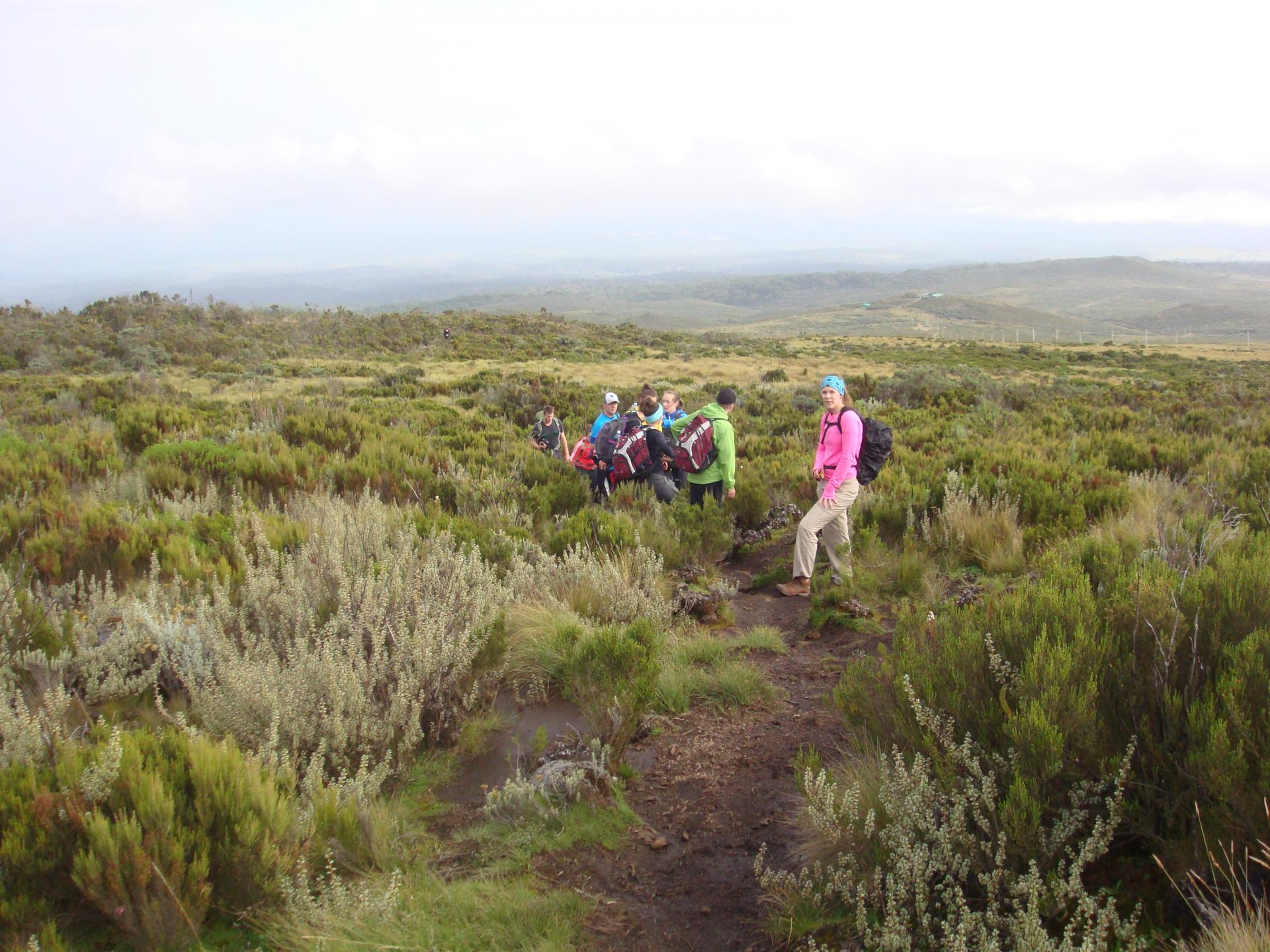 Mount Kenya Adventure Climbing Route