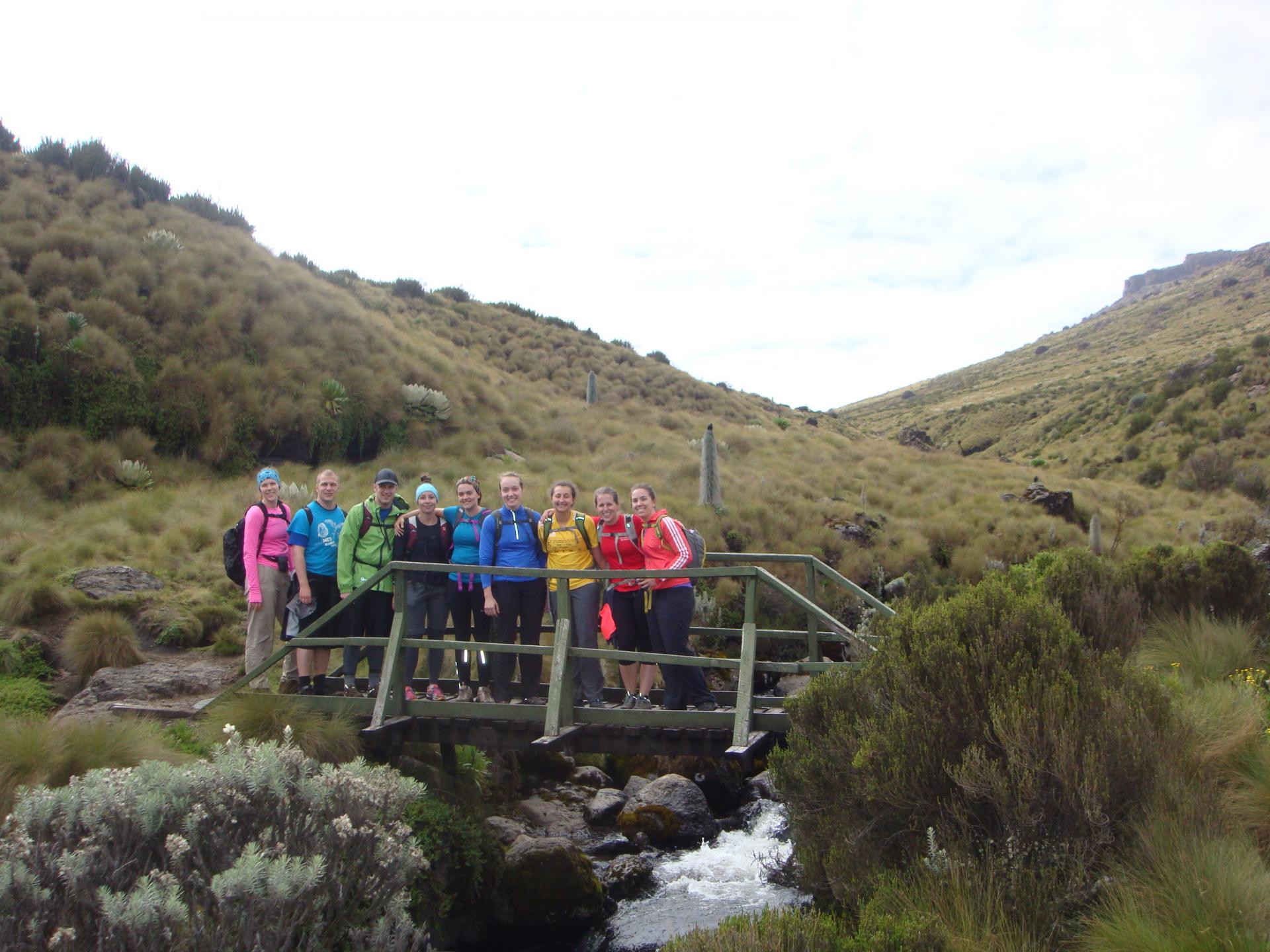 Mount kenya Group Expedition Tour