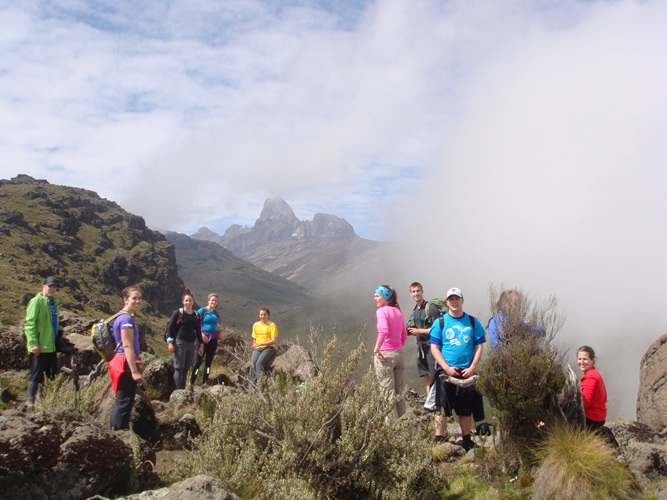 Small Group Adventure Mount kenya Climb
