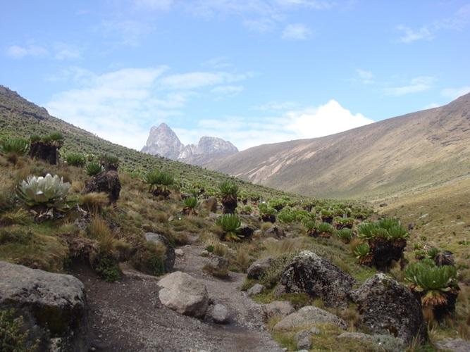 Mount kenya Summit Peaks
