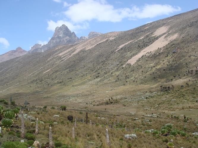 Mount kenya Peaks- trek Mt Kenya