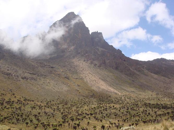 Climbing To Mount kenya Peaks