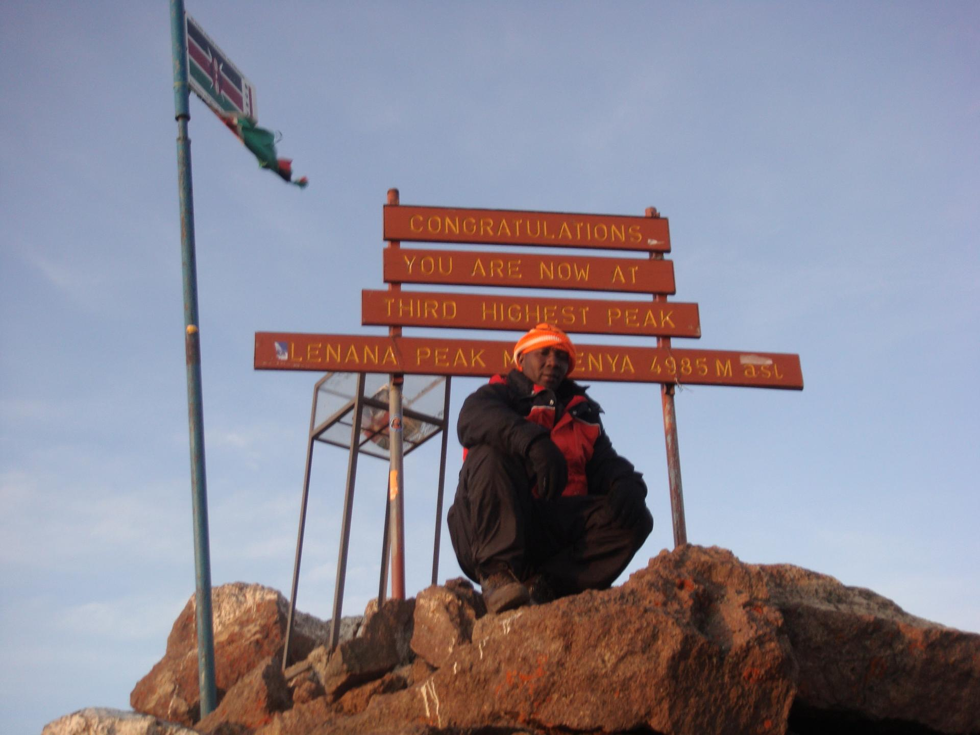 Mount kenya Summit Trek